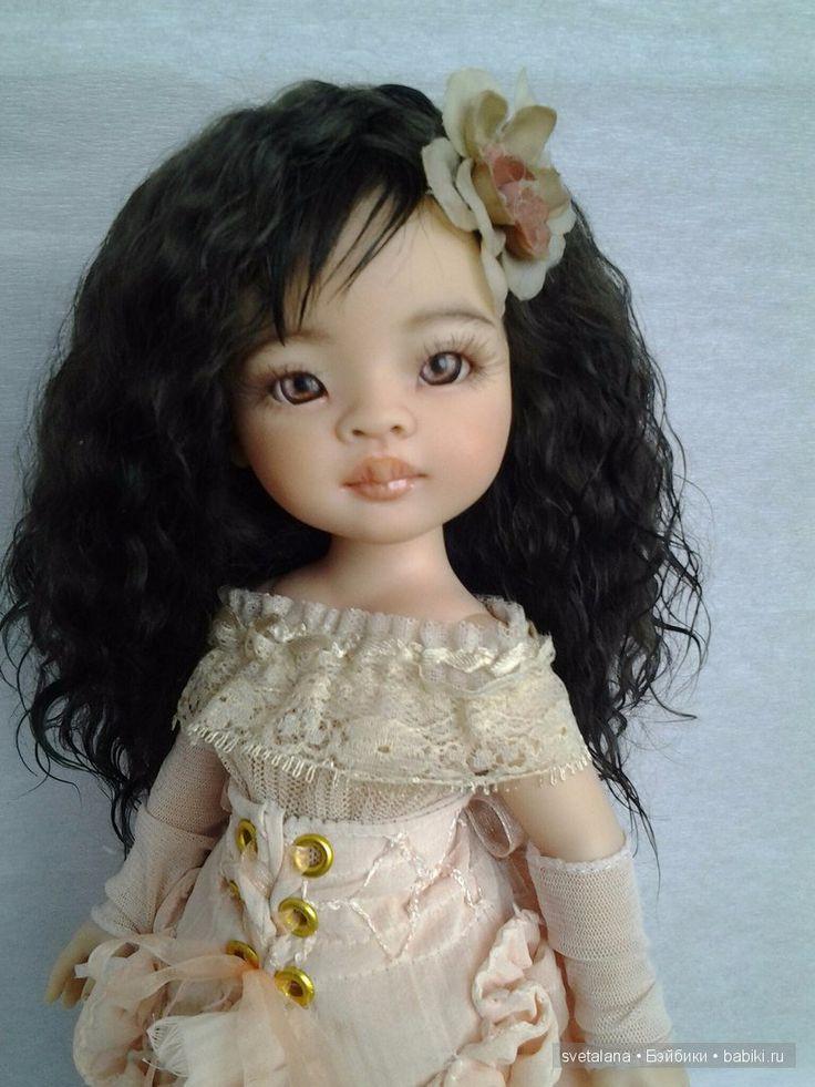 Моя нежная Лиу...ООАК куклы Paola Reina / Авторские куклы своими руками, ООАК / Бэйбики. Куклы фото. Одежда для кукол