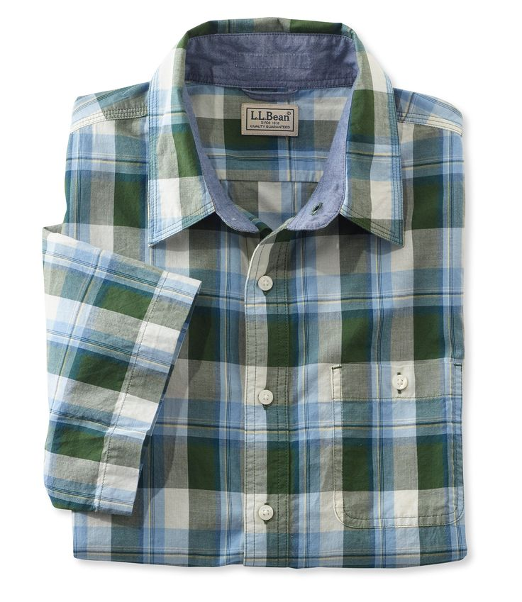 Men's L.L.Bean Madras Shirt