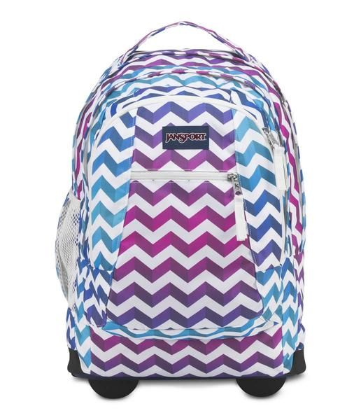 JanSport Driver 8 Backpack - Shadow Chevron