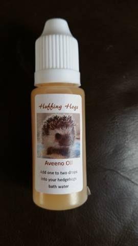African Pygmy Hedgehog Aveeno oil 15ml