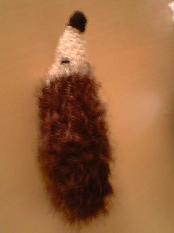 Hedgehog hand knitted by linsbargains on Etsy, £2.00