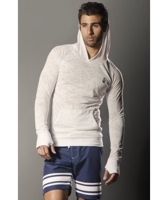 Andrew Christian Anchor Muscle Hoodie £38.00