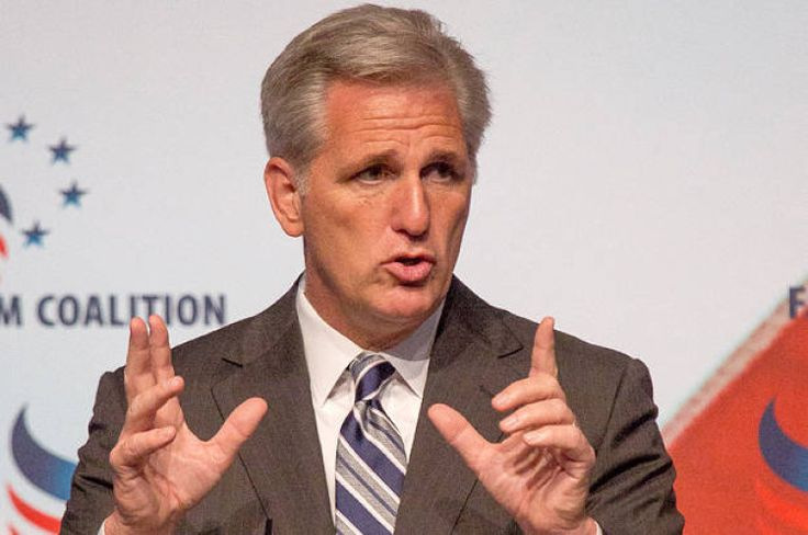 BREAKING: Boehners Presumed Replacement Rep. Kevin McCarthy Drops Out of House Speaker Race