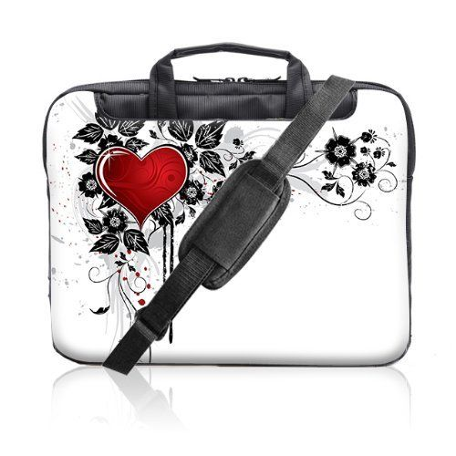 TaylorHe 15.6 inch 15 inch 16 inch Hard Wearing Nylon Laptop Carry Case Colourful Laptop Shoulder Bag with Patterns, Side Pockets Handles and Detachable Strap Red Love Heart and Vines by 15'6 inch TaylorHe Nylon Laptop Carry Cases, http://www.amazon.co.uk/dp/B008VRJ3K2/ref=cm_sw_r_pi_dp_seOEsb0T20QTR