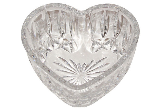 17 best images about crystal on pinterest heart shops for Heart shaped jewelry dish