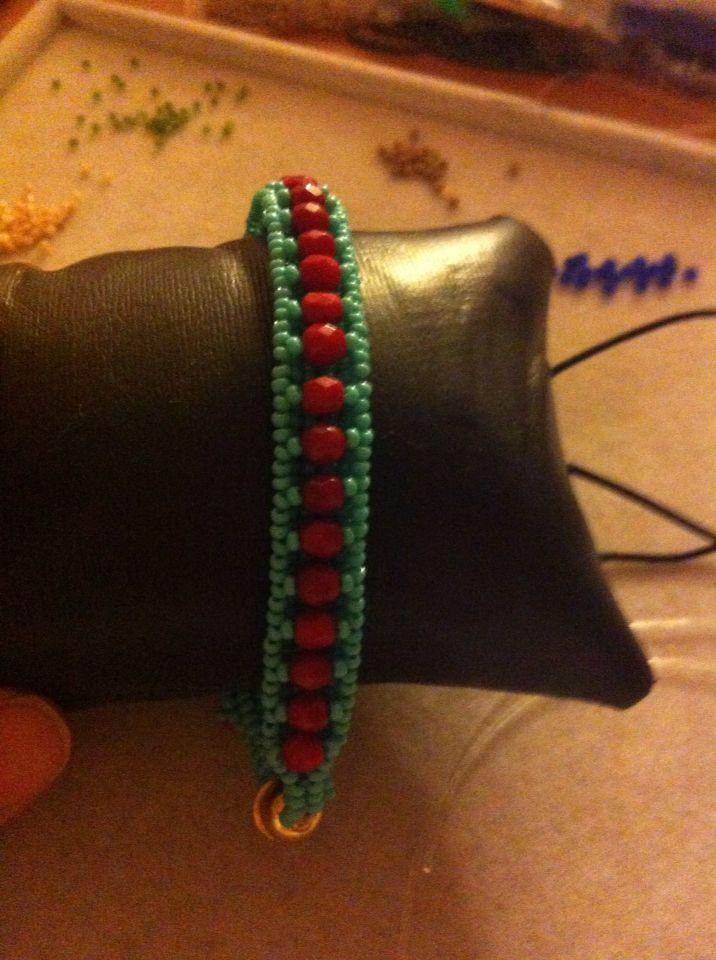 Herringbone barcelet