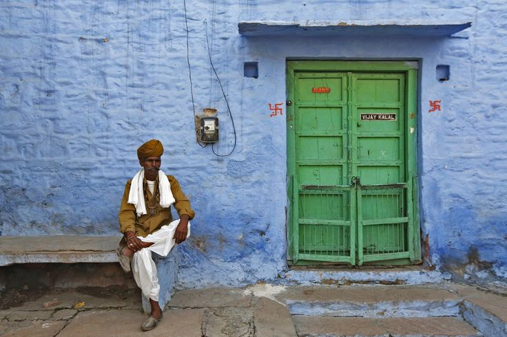 7 Beautiful Photos of India's 'Blue City' of Jodphur - CityLab