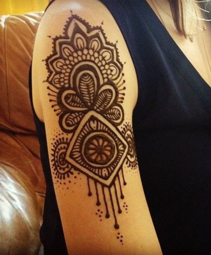 1000 Ideas About Shoulder Henna On Pinterest  Henna