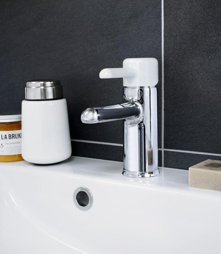 Tvättställblandare från Logic som både är miljösmart och snygg. | GUSTAVSBERG