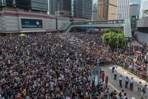 People Power Menolak Penghapusan Pemilu Langsung di Hongkong