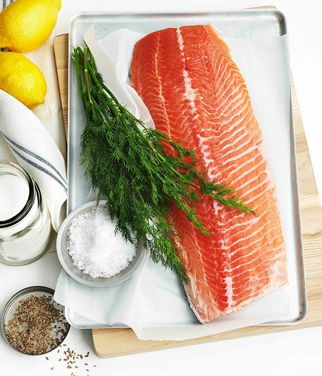 Gravlax recipe | Gourmet Traveller recipe :: Gourmet Traveller
