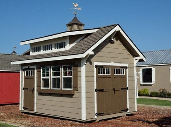 7 best ulrich barn builders backyard storage sheds images for Craftsman style storage sheds