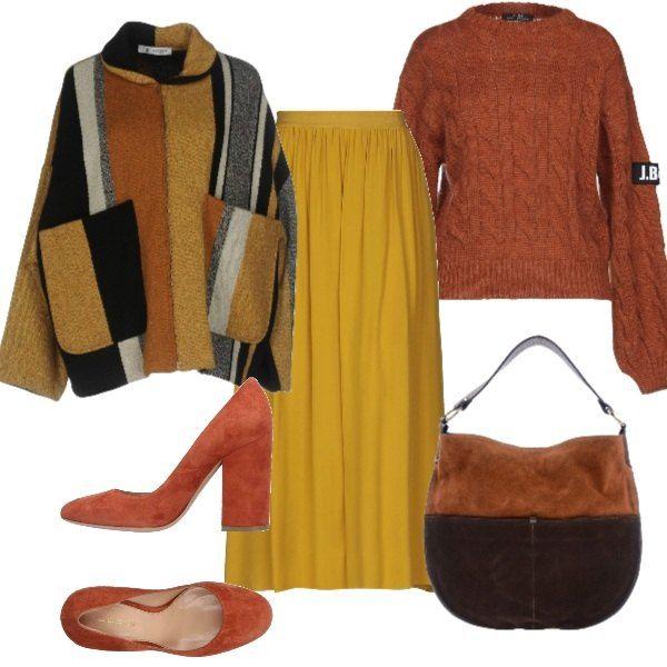 L'inverno La Per Outfit Calore Colorare I Un Danno Del Sensazione X5xqt141
