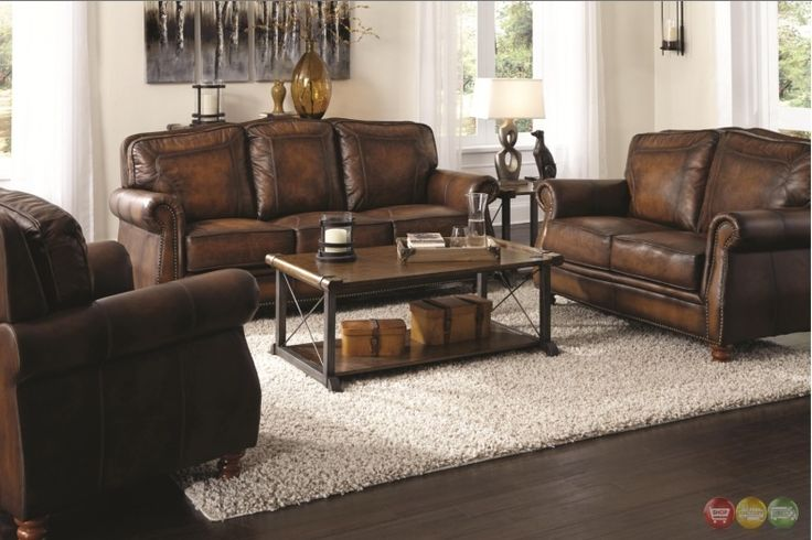 Real Leather Sofa Sets Sale