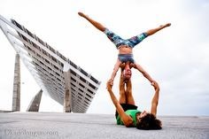 Acro Yoga Star Pose