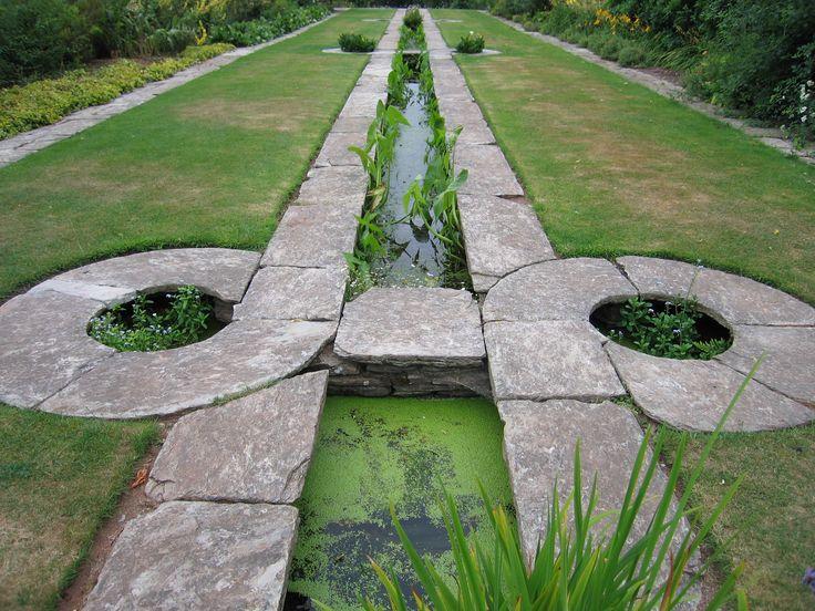 Gertrude jekyll and sir edward lutyens hestercombe for Gertrude jekyll garden designs