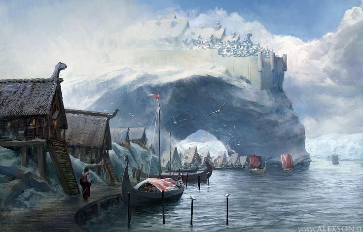 Viking Harbor   by Alexander Forssberg                              …