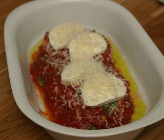 Marias Salt og Søtt: Pollo Parmigiana