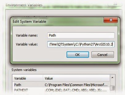 How to get Windows' command window to recognize the #python executable. #GIS #ArcGIS