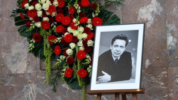 Gedenkfeier für Frank Schirrmacher: Eine zentrale Kraft der deutschen Öffentlichkeit