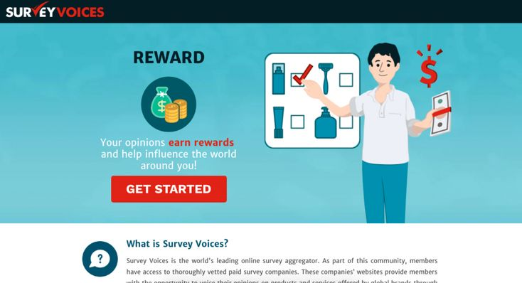 Survey Voices – Work From Home – Online Paid Survey Sites – United States