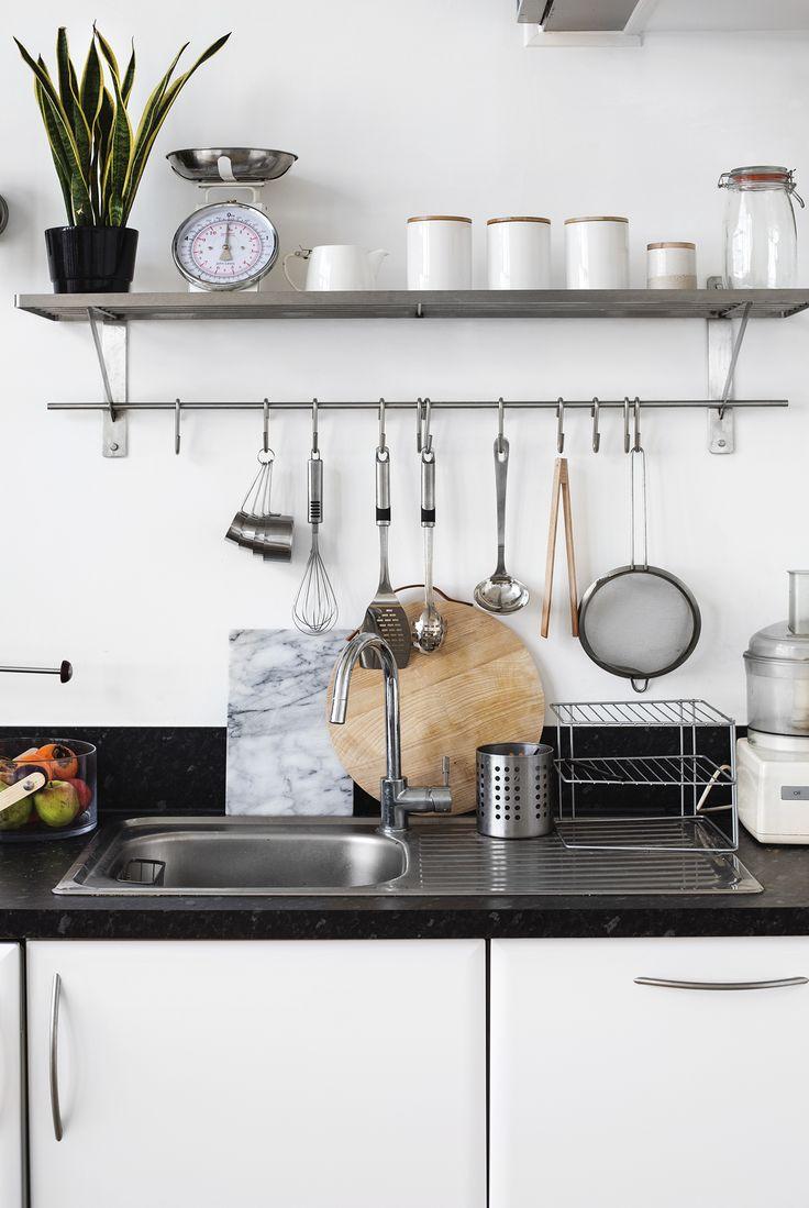 clean, minimal kitchen