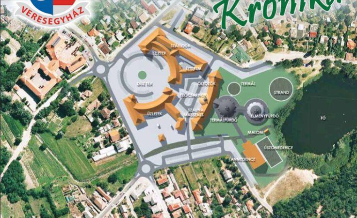 Veresegyház város tervezett gyógyfürdője. Tervek: Zsigmond László