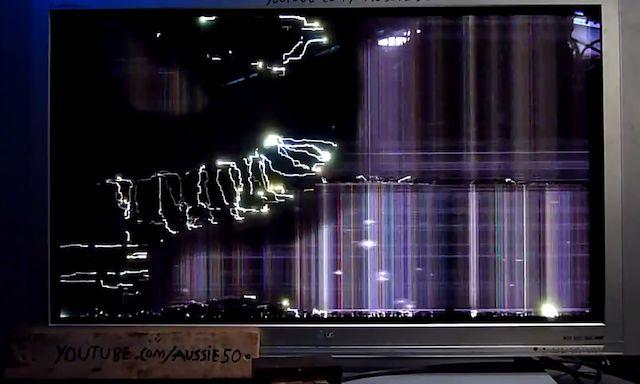 要らないプラズマTVを捨てる前に、100ボルトの電圧をかけてみよう。するとこうなります(動画あり) : ギズモード・ジャパン