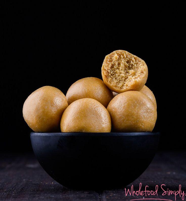 Peanut Butter Cookie Dough Bliss Balls