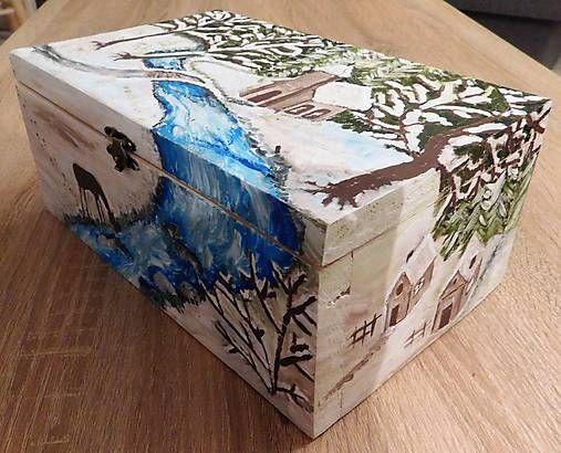 RebekaP / Zimná krabica