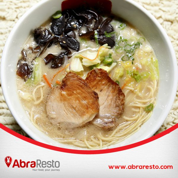 What to eat at weekend with your family? Try our selection Ramen Restaurant here http://bit.ly/AbraRestoRamen