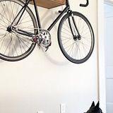 Pinstripe Bike Shelf from Curtis Micklish
