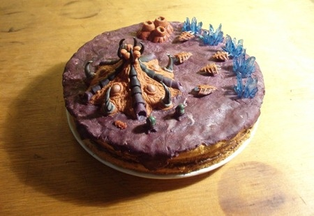 starcraft zerg cake
