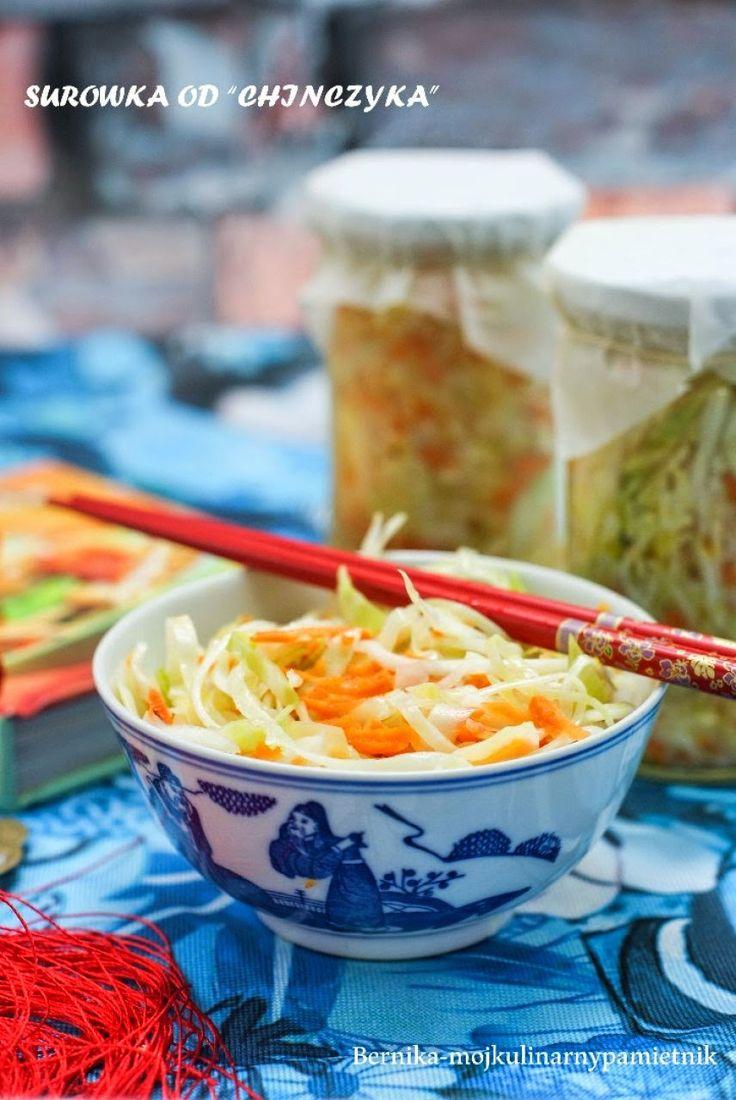 surówka, kapusta, chińczyk, bernika, przetwory, kulinarny pamietnik