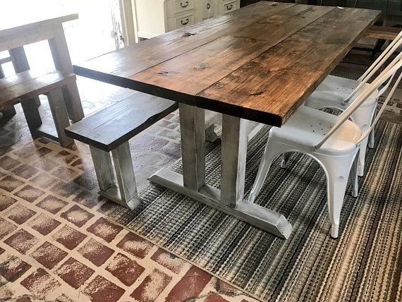 30+ Farmhouse table with metal chairs and bench ideas in 2021