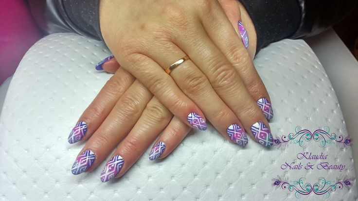 #CuteNails #sweetNails #Nails #PolishNails #KlaudiaNails&Beauty #Aztecnails #Ombrenails