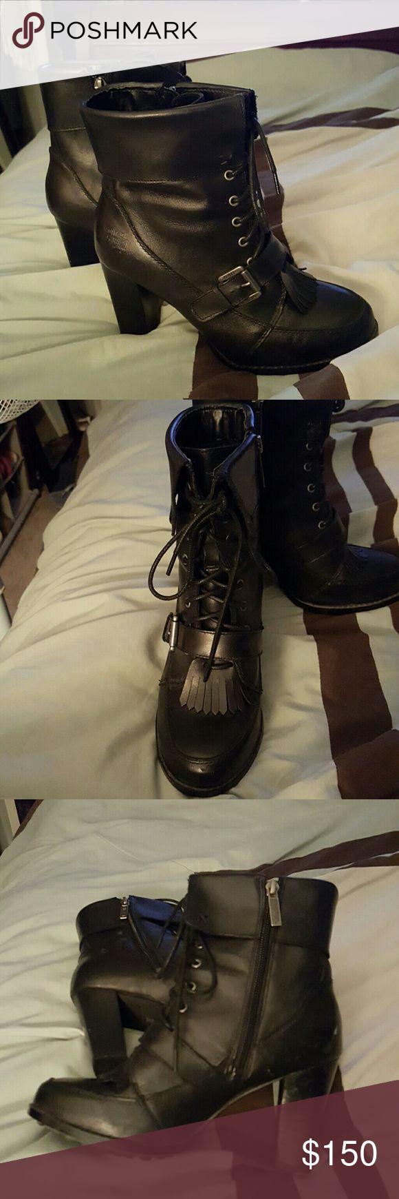 Womens harley boots Brand new harley Davidson boots Harley-Davidson Shoes Heeled Boots