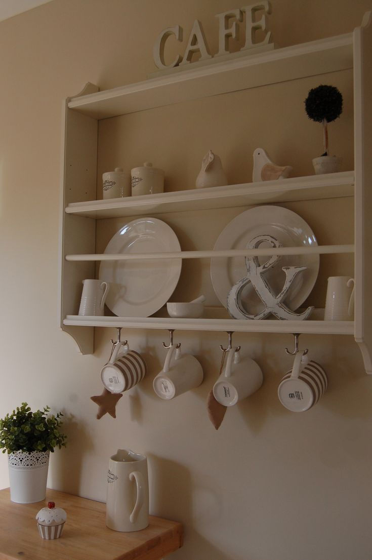 Plate Rack Kitchen Decor