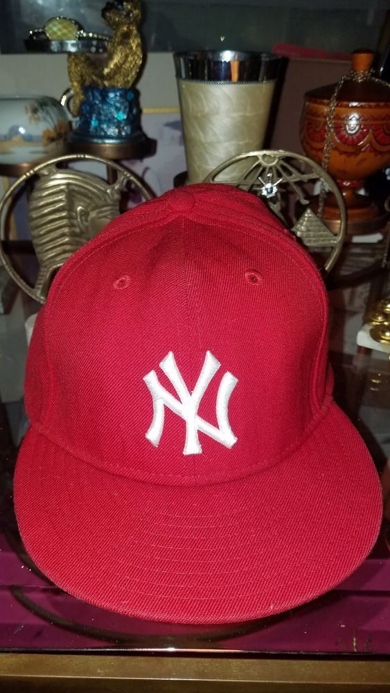 8e002a34b49980 New Era New York Yankees MLB 9forty Cap Red #fashion #clothing #shoes  #accessories #mensaccessories #hats (ebay link)