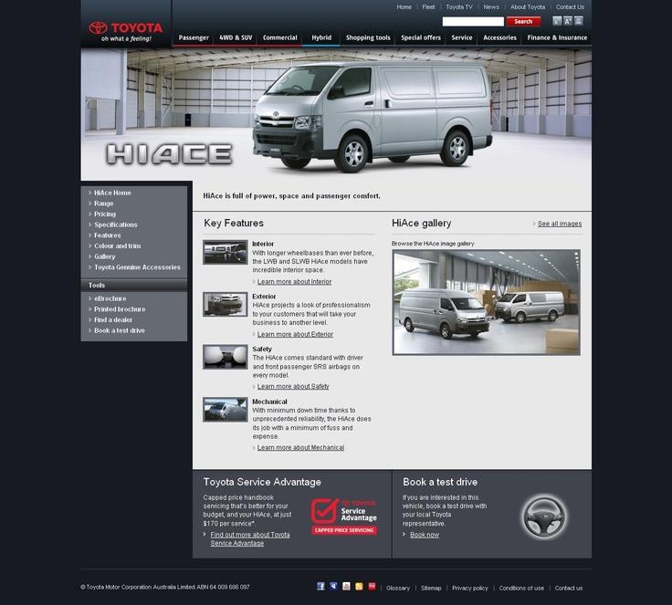Toyota HiAce - http://ronaldjusuf.wordpress.com/2013/02/22/toyota-hiace/