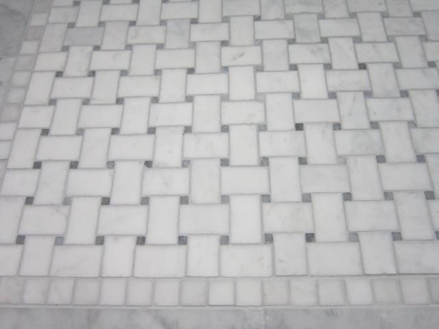 Grout Colors For Carrera Tile Grout Grout Basket Weave