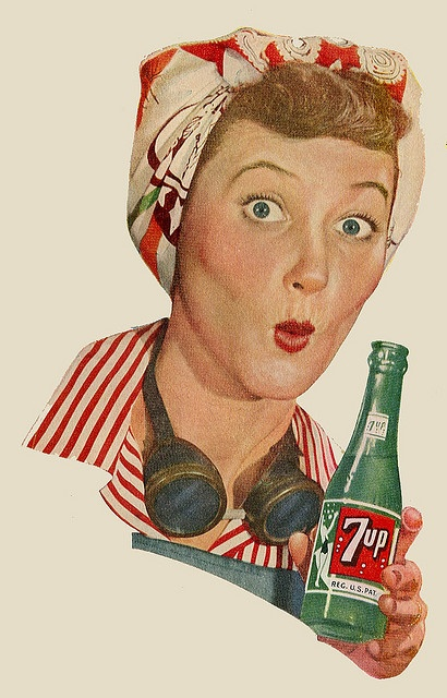 From a 1944 advertisement for 7-Up. www.melijoe.com