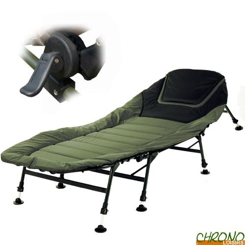Bed Chair Prowess Landlake 8 pieds sur www.chronocarpe.com/-p-15155.html