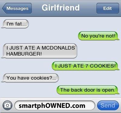 25 HILARIOUS TEXT MESSAGE FAILS ABOUT FOOD — Food Krazy