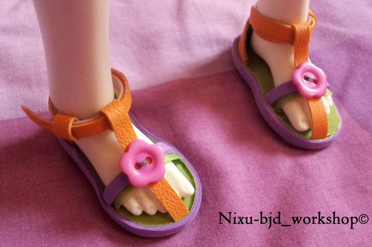 Handmade Sandals for BJD Dolls #ClothingAccessories