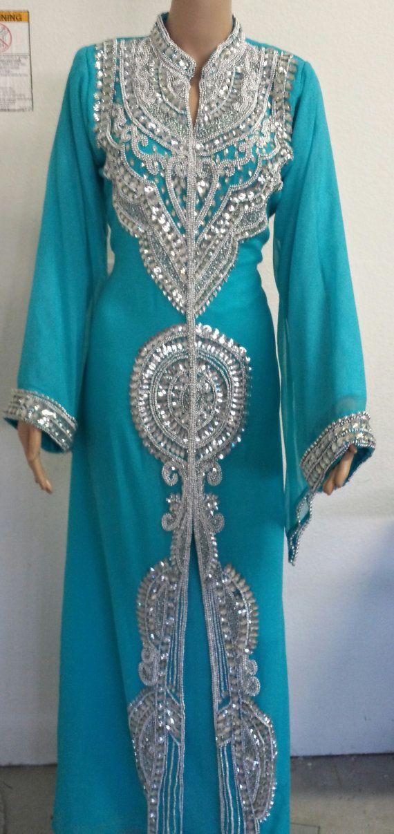 Kaftan / Dubai Kaftan/  Abaya/  khaleeji/  jalabiya by AFROTRENDS, $99.99