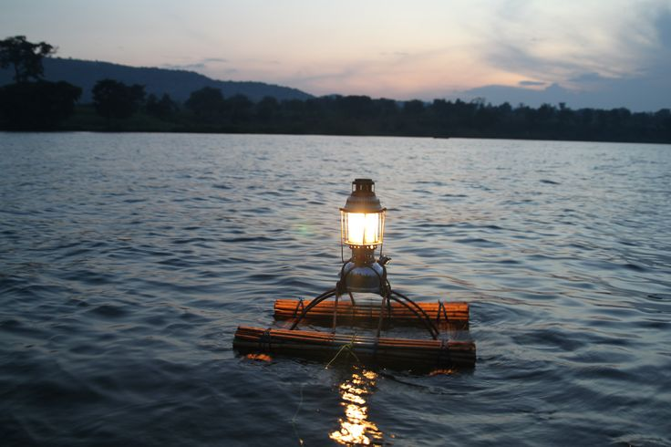 Kerosene fishing lamp, soon being replaced with solar fishing lights for fishers around Lake Victoria
