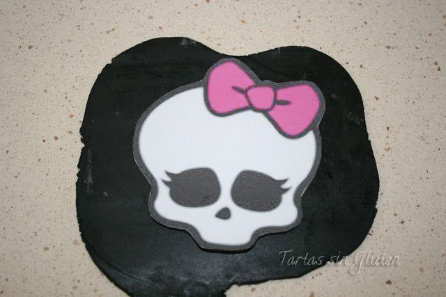 Tarta Monster High .....paso a paso