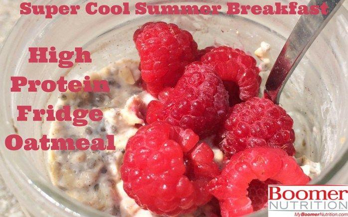 Super Cool Summer Breakfast High Protein Fridge Oatmeal_logo