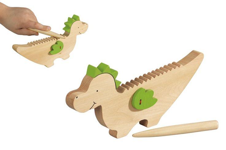 Guiro, houten muziekdraak
